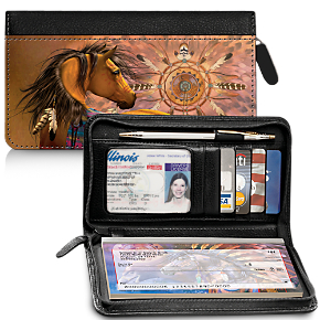 Painted Ponies Wallet