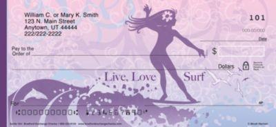 Surfer Girl Personal Checks