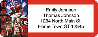 Bulldog Spirit Return Address Label