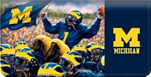 Wolverine Spirit Checkbook Cover