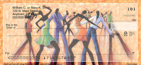 Smooth Jazz Personal Checks