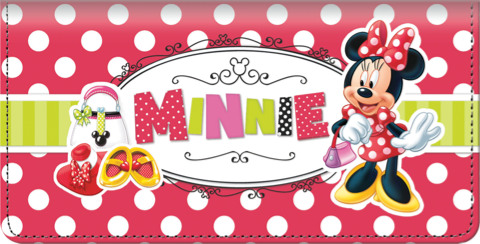 Disney Minnie Fashion Icon Checkbook Cover