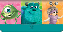 Monsters, Inc. Checkbook Cover