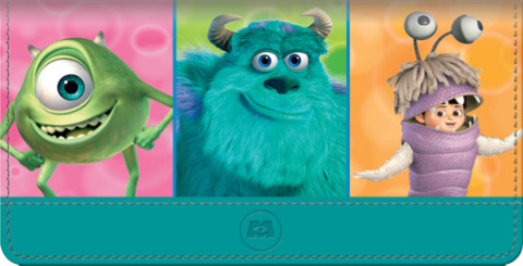 Monsters Inc Checkbook Cover