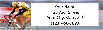 Cycling Return Address Label