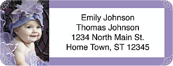 Blissful Babies Return Address Label