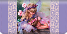 Enchanting Fairies Checkbook Cover