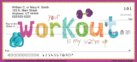 workout exercise personal checks