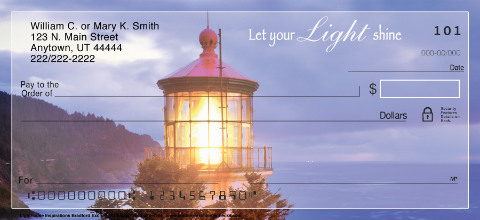 Lighthouse Inspirations Personal Checks