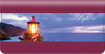 Lighthouse Inspirations Checkbook Cover