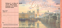 Thomas Kinkade's Romance of Europe Personal Checks