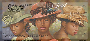 Sunday Hats Personal Checks