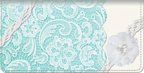 Lavish Lace Checkbook Cover
