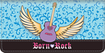 Girls Rock! Checkbook Cover