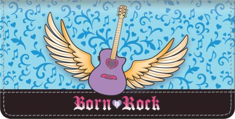 Girls Rock! Checkbook Cover