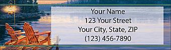 Dockside Return Address Label