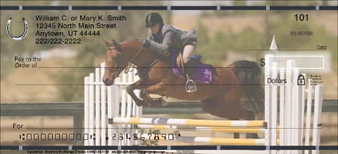 Equestrian Personal Checks
