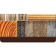 Bradford Exchange Checks Woodgrain Checkbook Cover at Sears.com