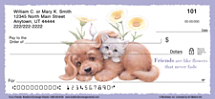 Puppy and Kitten Personal Checks, Cat and Dog Personal Checks