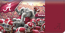 Bama Spirit Checkbook Cover