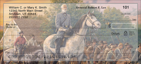 Confederate Generals Personal Checks