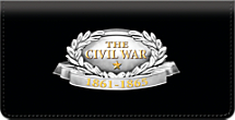 Civil War Generals Checkbook Cover