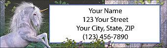 Equine Fantasy Return Address Label