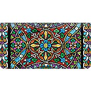 Bradford Exchange Checks Stained Glass Checkbook Cover at Sears.com