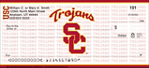 USC Trojans Personal Checks