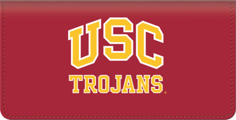 USC Trojans Checkbook Cover
