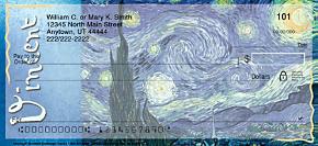 Van Gogh Personal Checks