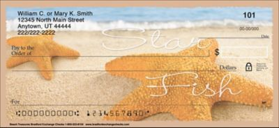 Beach Treasures Personal Checks