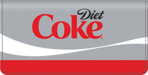 Diet Coke Checkbook Cover