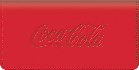 History of Coca-Cola(R) Checkbook Cover