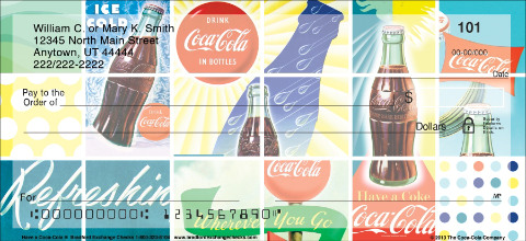 Have a Coca-Cola(R) Personal Checks