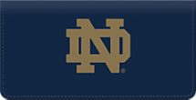 University of Notre Dame Checkbook Cover