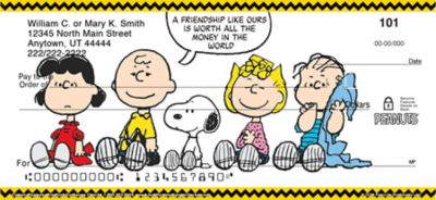 Classic Peanuts Personal Checks