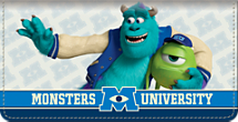Monsters University Checkbook Cover