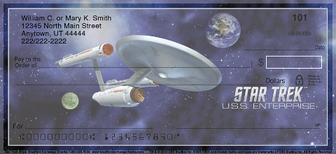 Star Trek Ships Personal Checks 1800712001