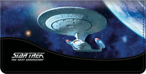 Star Trek Ships Checkbook Cover 1800712010