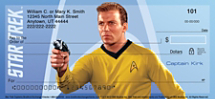 Star Trek Captains Personal Checks