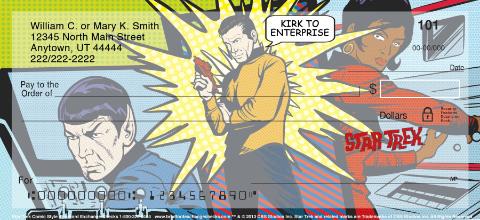 Star Trek Comics Personal Checks