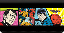Star Trek Comics Checkbook Cover