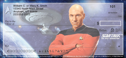 Star Trek The Next Generation Personal Checks