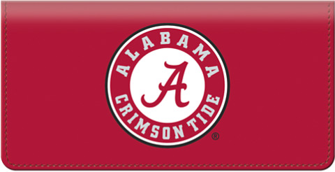 University of Alabama Checkbook Cover