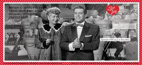 I Love Lucy Classics Personal Checks