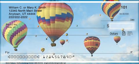 Hot Air Balloons Personal Checks