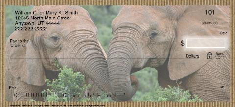 Elephants Personal Checks