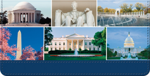 Our Nation's Capital Checkbook Cover