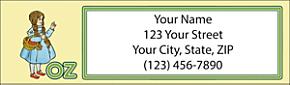 Classic Oz Return Address Label